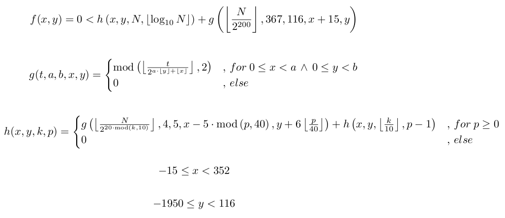self reference formula in math travnik s self referential formula lyx